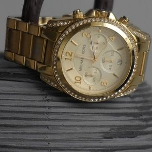 MICHAEL Michael Kors Accessories - Michael Kors Women's Blair Gold Watch